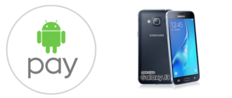 Android Pay на Samsung Galaxy J3