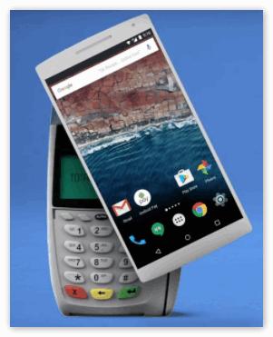 Android Pay на Xiaomi Оплата