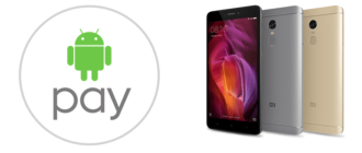 Android Pay на Xiaomi Redmi Note 4