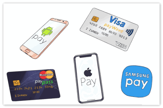 Apple Pay и Samsung Pay