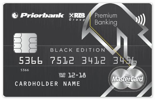 Банковская карта Приорбанк