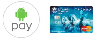 Карта Тройка и Android Pay