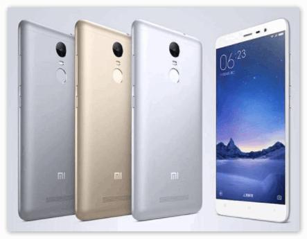 Модели Xiaomi
