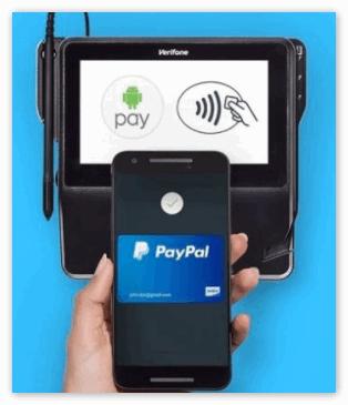 Оплата Андроид Пей через терминал