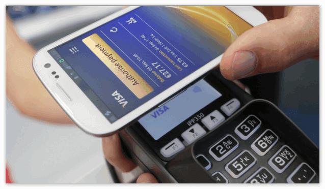 Оплата через Android Pay