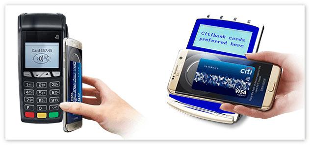 Оплата через Samsung Pay