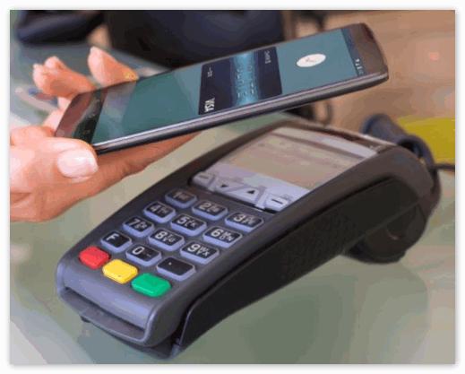 Оплата покупки через Андроид Пей