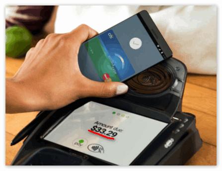 Оплата приложением Android Pay