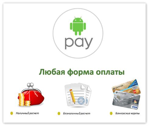 Преимущества приложения Андроид Пей