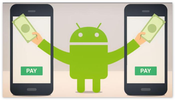 Приложение на телефон Android Pay