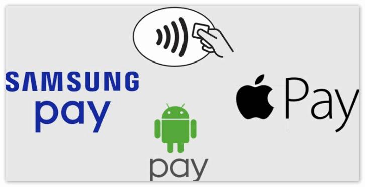 Самсунг Пей и Эппл Пей против Андроид Пей
