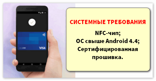 Системные требования для приложения Android Pay.png