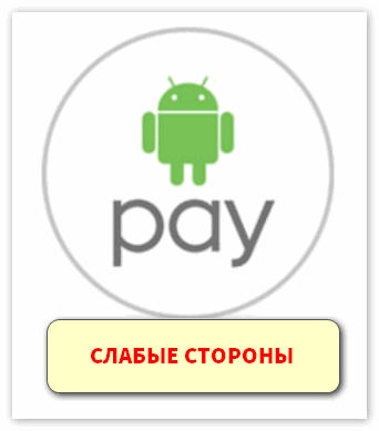 Слабые стороны Android Pay