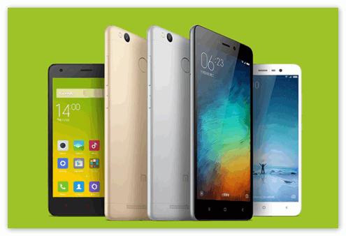 Смартфоны Xiaomi линейки Redmi
