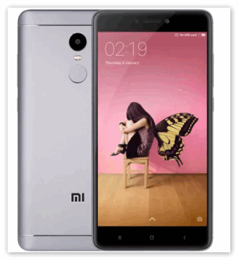 Телефон Xiaomi Redmi Note 4