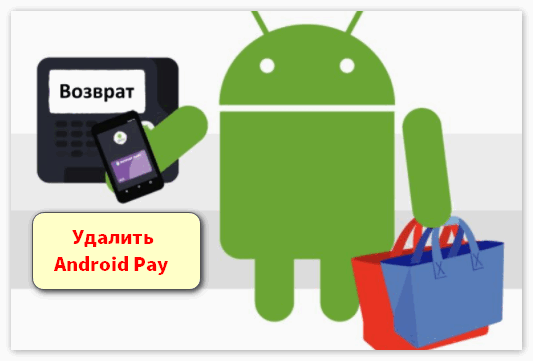 Удалить Android Pay