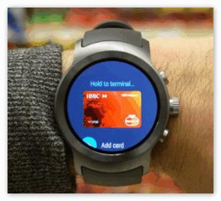 Умные часы с приложением Андроид Пей