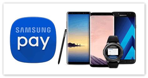 Устройства на которых работает Samsung Pay