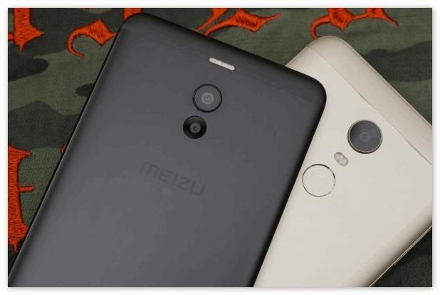 Xiaomi Redmi 5 Plus и Meizu M6 Note