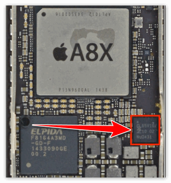 Чип NFC в iPad