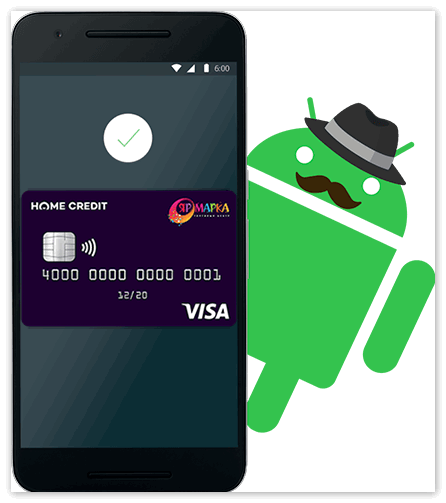 Карта Home Credit Bank в Android Pay