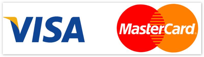 Логотип Visa и Mastercard