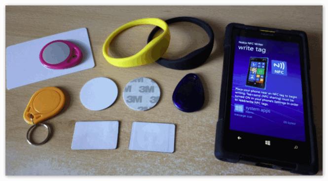 NFC метки для телефона