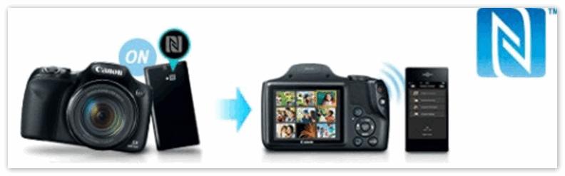 NFC в фотоаппарате