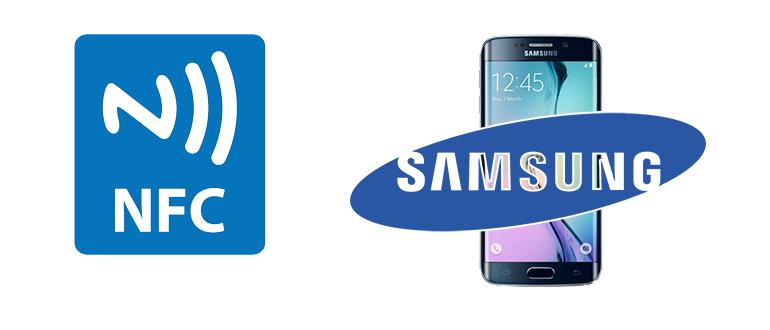 NFC в телефоне Samsung