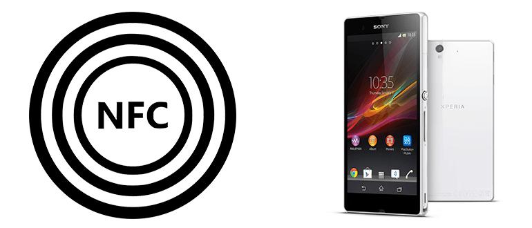 NFC в телефоне Sony Xperia