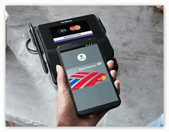 Оплата в магазине через Андроид Пей