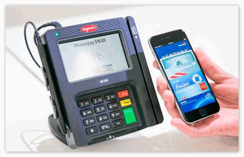 Опция NFC на iPhone 6