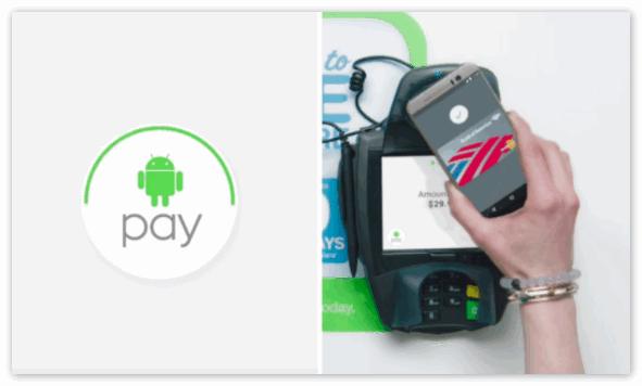 Приложение Андроид Пей на смартфон