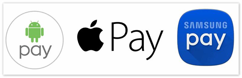 Приложения для оплаты бесконтактным способом