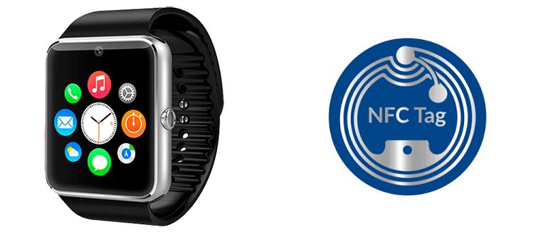 Смарт-часы с NFC чипом
