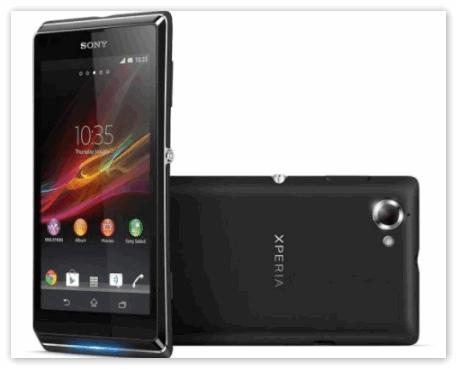 Смартфон Sony Xperia L