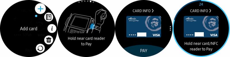 Как использовать Samsung Pay для Gear S2 и S3.