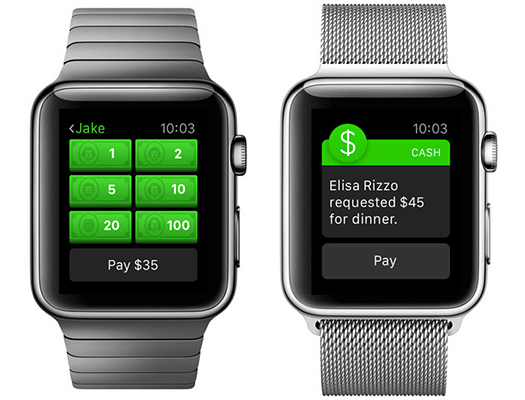 Оплата через Apple Watch