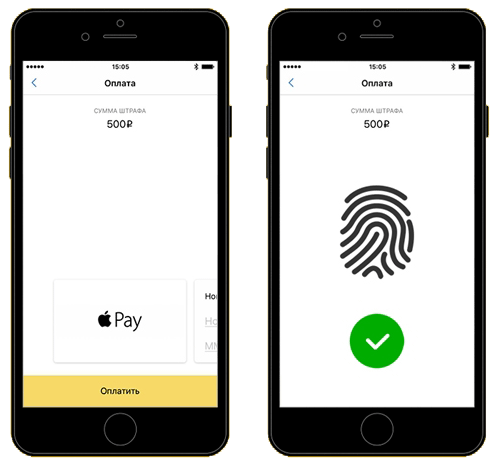 Оплата в Apple Pay