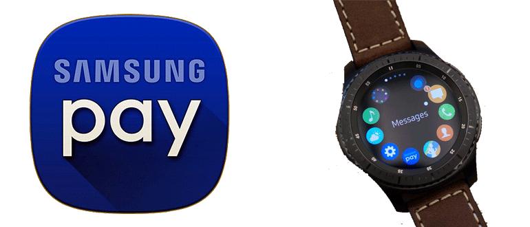 Samsung Pay для Gear S2 и S3