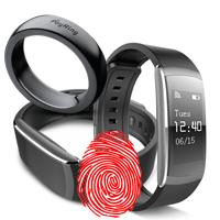 Кольца, браслеты и часы с отпечатками пальцев