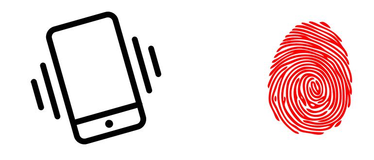 Телефоны с отпечатком пальца