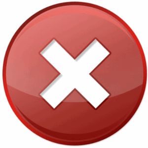 Ошибка логотип MTS Pay