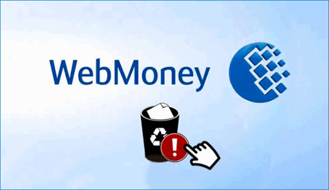 Способы удаления кошелька WebMoney