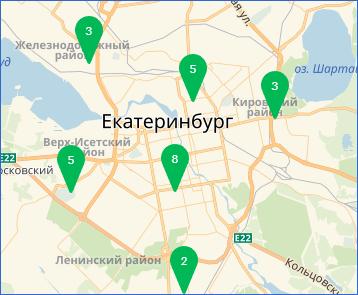Карта салонов Мегафон-Банк