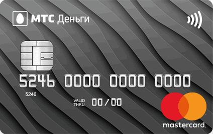 Карта Zero MTS Pay