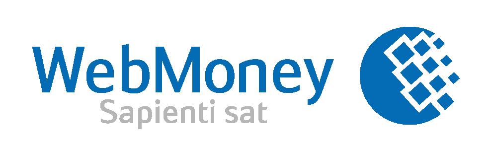 Лого WebMoney белое