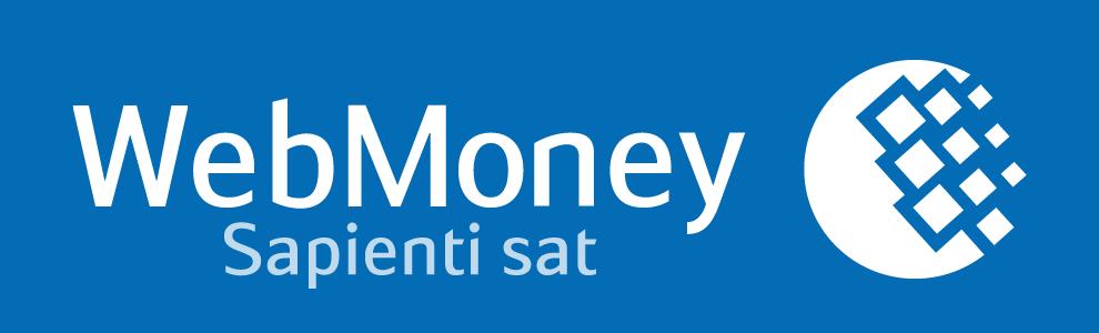 Лого WebMoney голубое