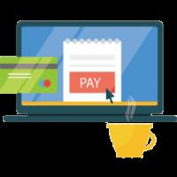 Иконка платежей через интернет
