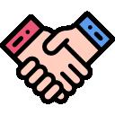Иконка рукопожатия
